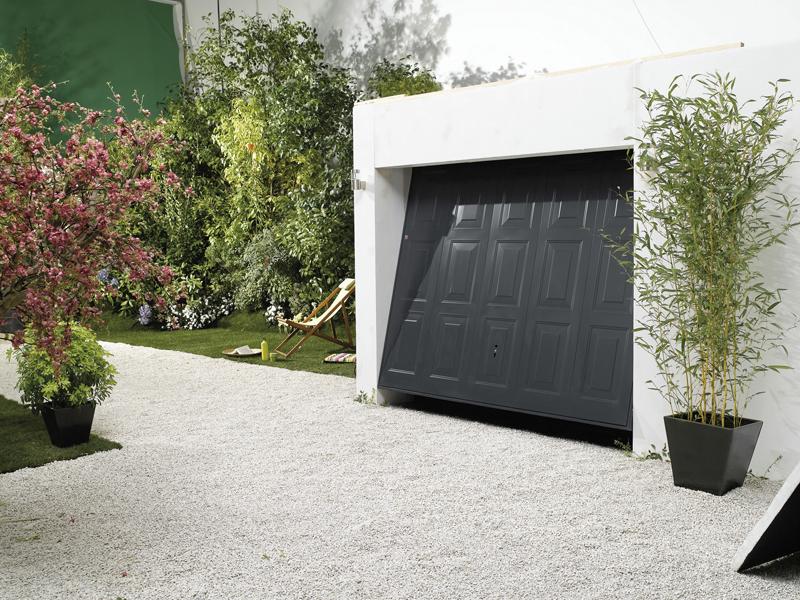 Porte de garage yernaux