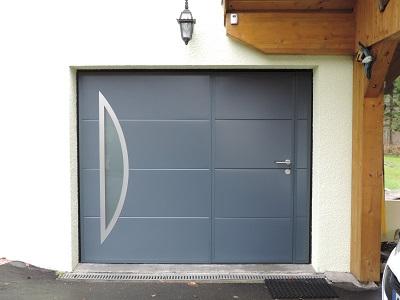Porte de garage basculante avec portillon occasion id es - Porte de garage occasion ...