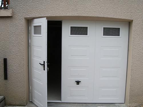 Porte De Garage Sectionnelle Sur Mesure Prix Idées De Travaux