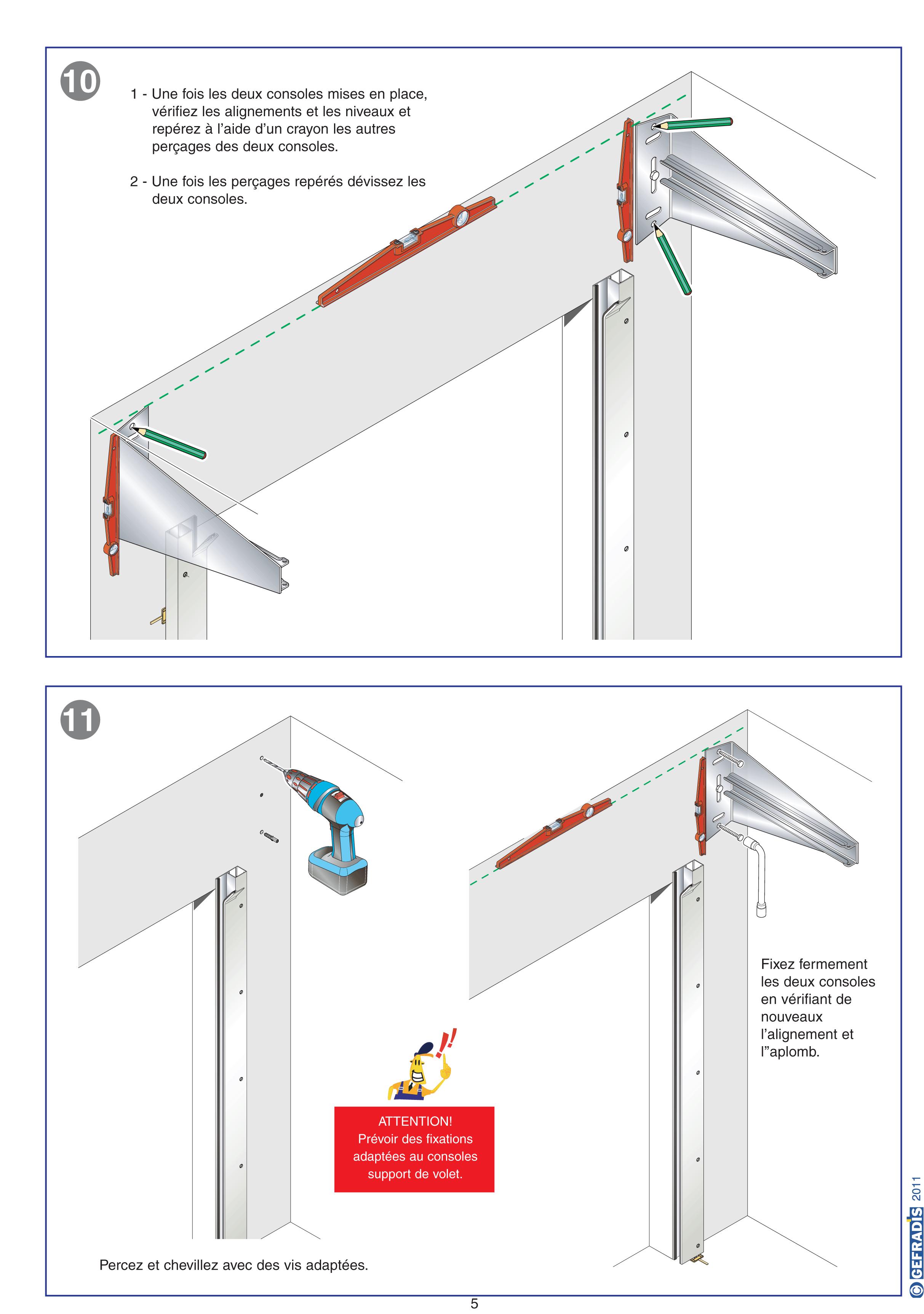 Monter une porte de garage enroulable id es de travaux - Montage porte de garage enroulable ...