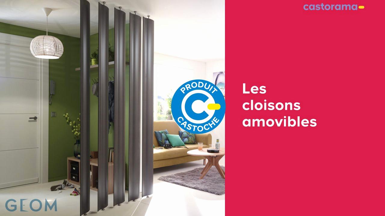 Cloison amovible accordéon castorama - Idées de travaux