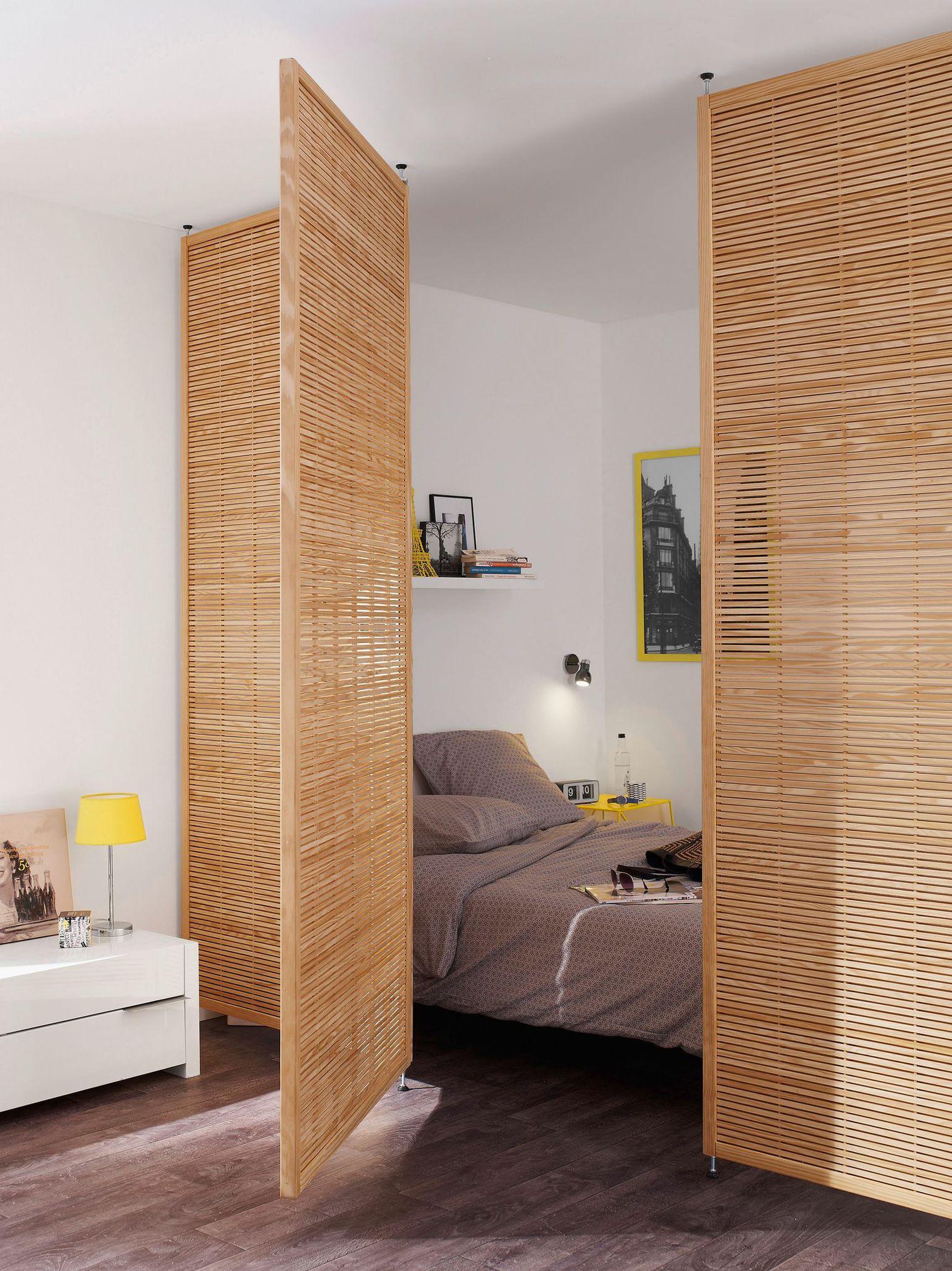 s parer une pi ce sans percer id es de travaux. Black Bedroom Furniture Sets. Home Design Ideas