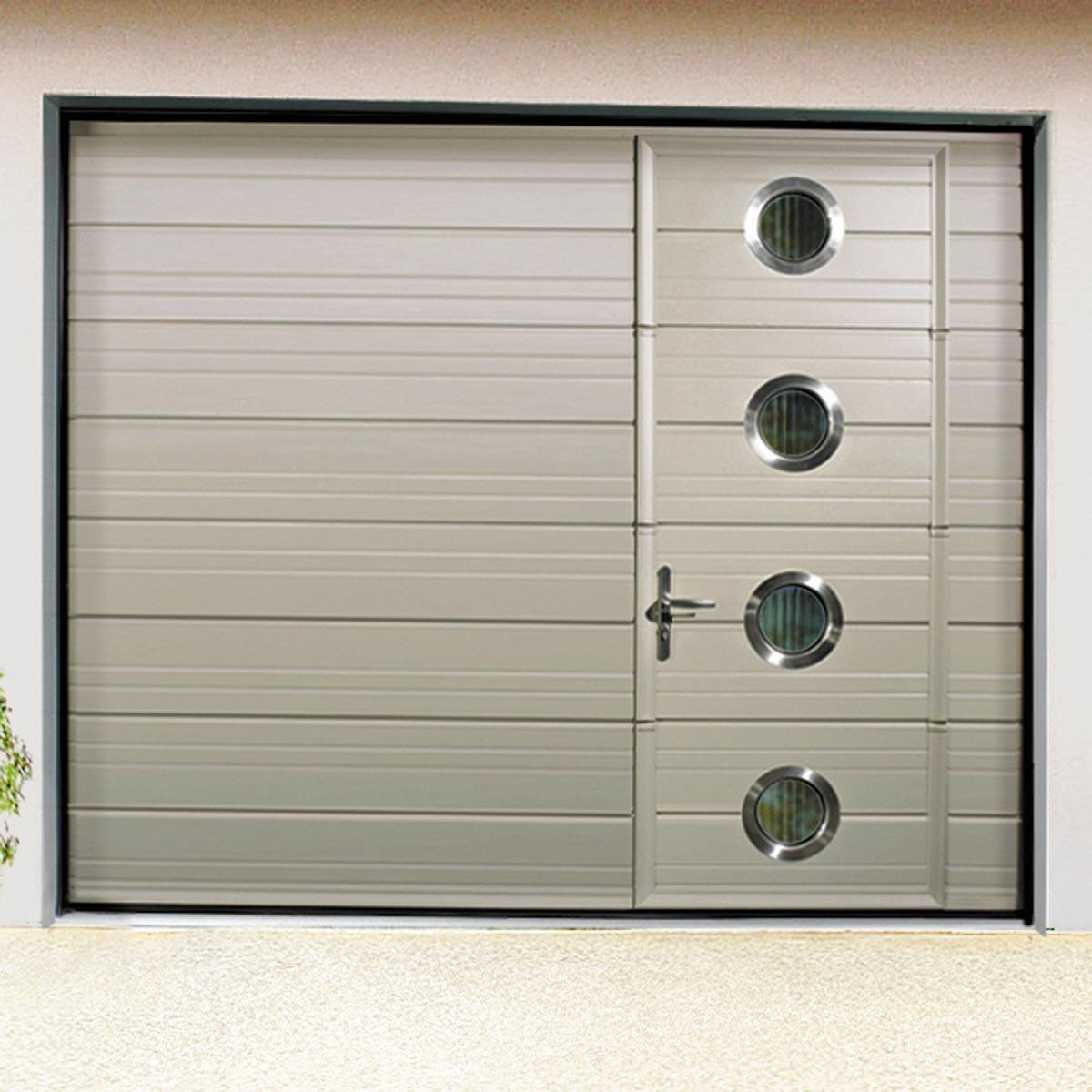 Exceptionnel Porte De Garage Gris Anthracite Pas Cher