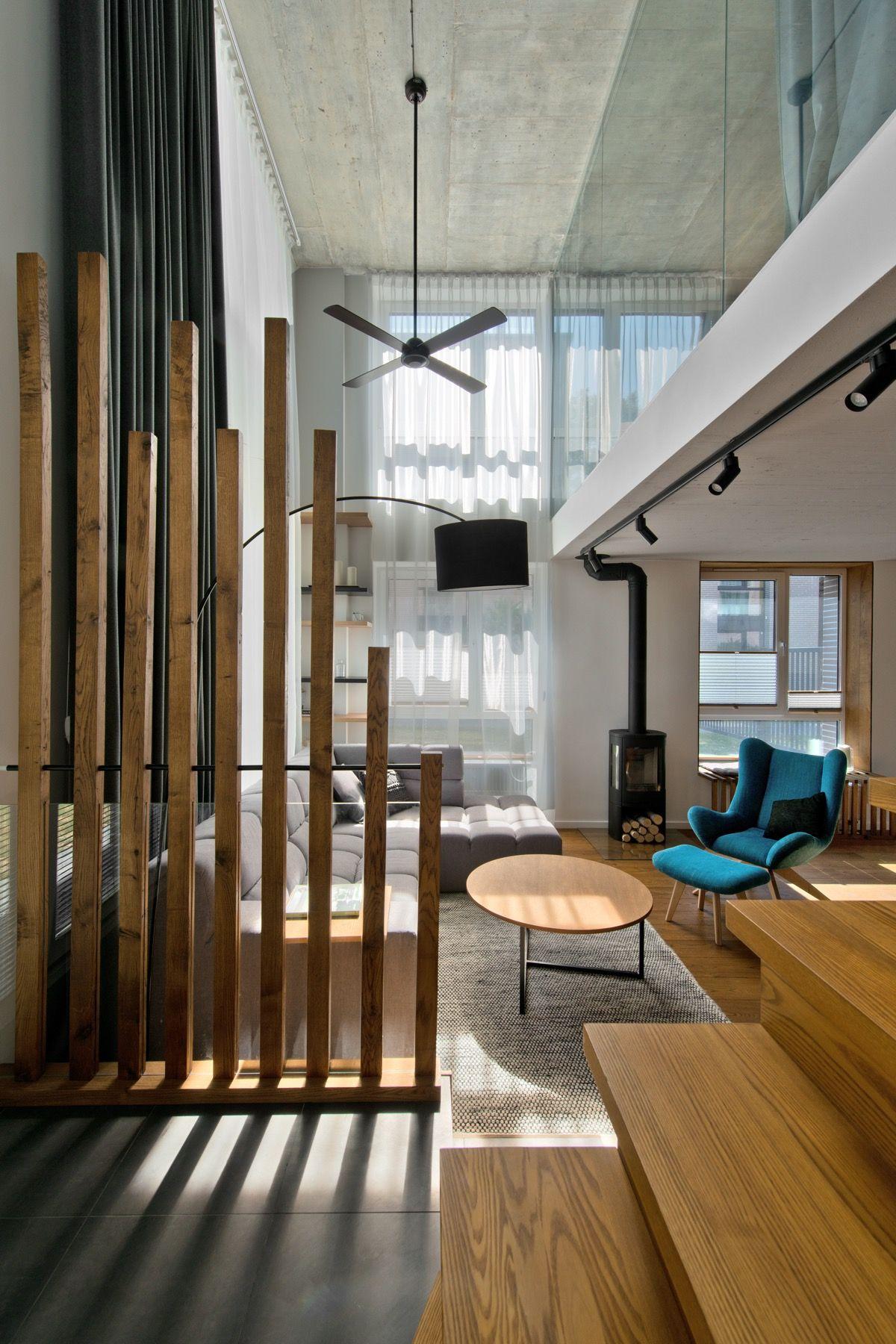Cloison amovible en bois design