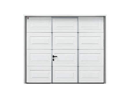 Porte De Garage Hormann Avec Portillon Incorpore Idées De Travaux
