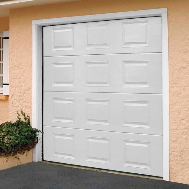 Porte De Garage Sectionnelle Motorisée Turia Anthracite Idées De