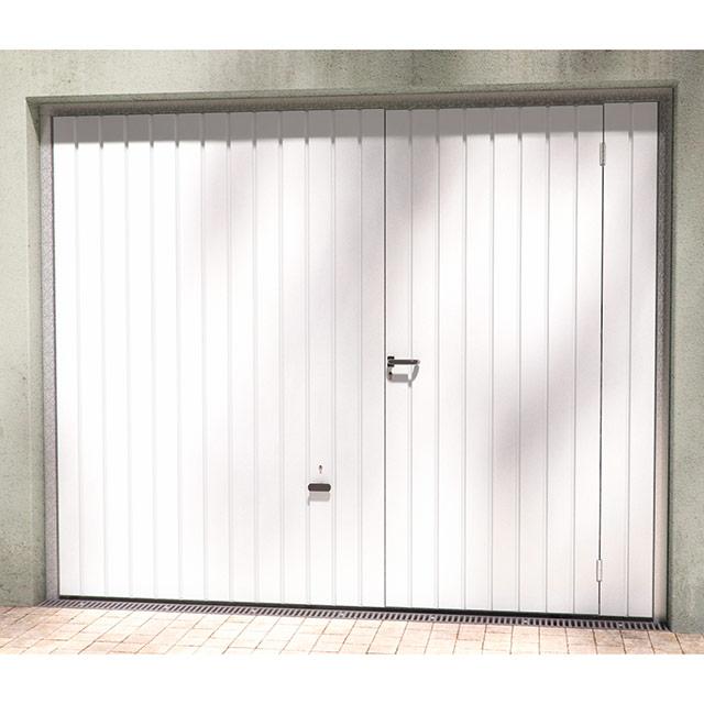 Porte de garage basculante avec portillon pas cher id es de travaux - Porte de garage avec portillon pas cher ...