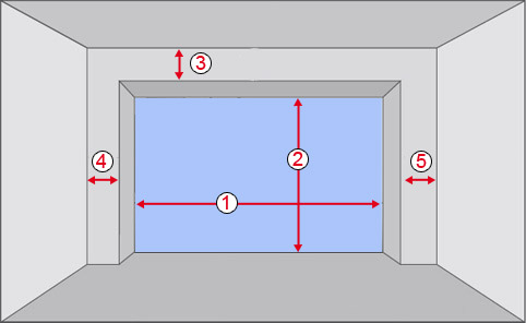 porte de garage mesure standard id es de travaux. Black Bedroom Furniture Sets. Home Design Ideas