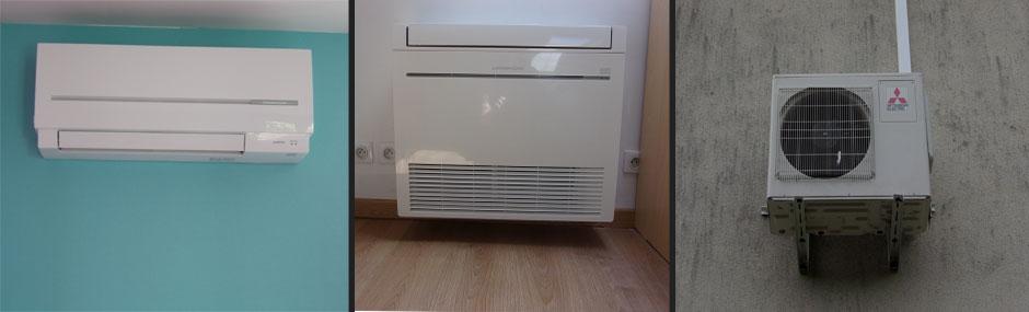 pompe a chaleur air air reversible mitsubishi id es de. Black Bedroom Furniture Sets. Home Design Ideas