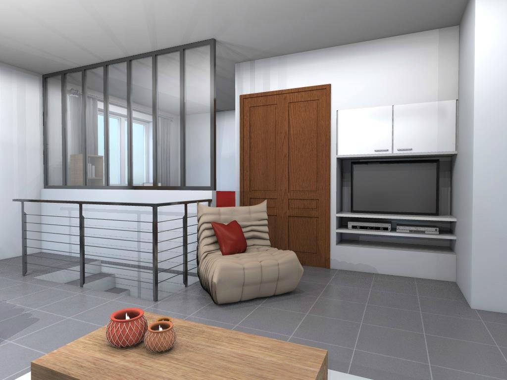 s paration de pi ce vitr e id es de travaux. Black Bedroom Furniture Sets. Home Design Ideas