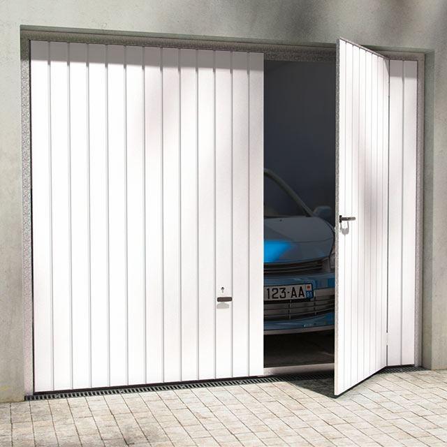 Porte de garage basculante avec portillon castorama id es de travaux - Porte de garage castorama ...