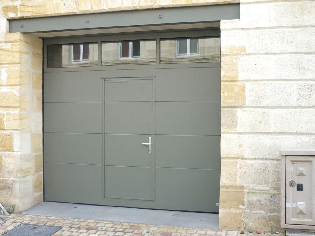 Prix porte de garage sectionnelle gedimat id es de travaux - Prix porte garage ...