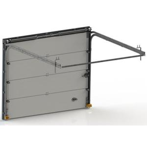 Porte de garage basculante 3m x 2m id es de travaux - Porte garage sectionnelle 3m large ...