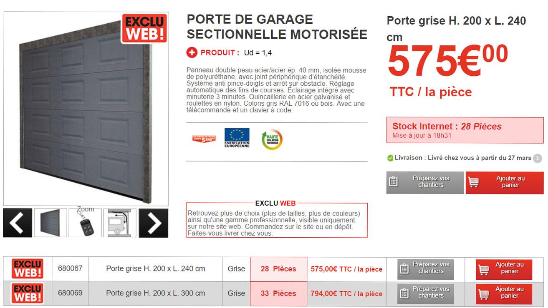Avis Sur Porte De Garage Brico Depot Idées De Travaux