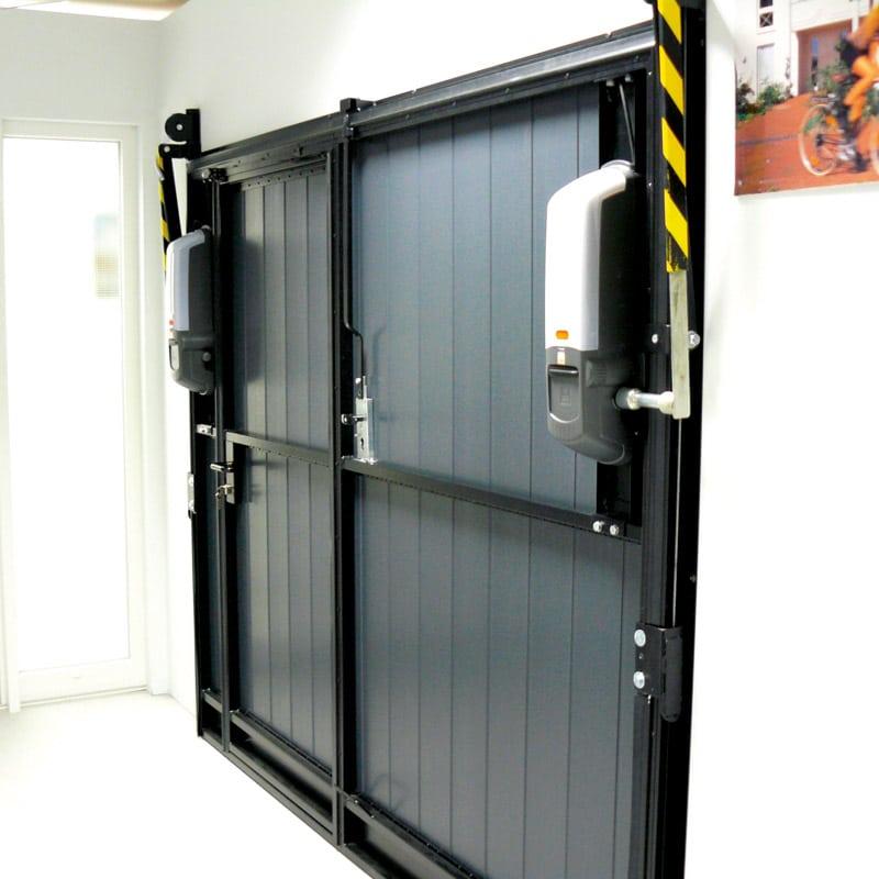 Porte de garage coulissante moteur id es de travaux - Moteur porte coulissante ...