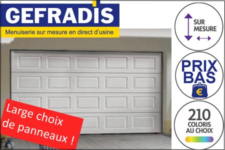 Bon Porte De Garage Sectionnelle 3m Pas Cher