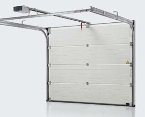 Installation Porte De Garage Sectionnelle Brico Depot Idees De Travaux