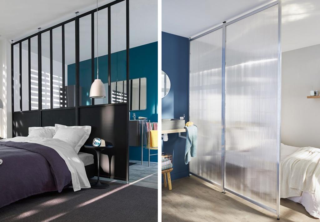 cloison amovible coulissante sans percer id es de travaux. Black Bedroom Furniture Sets. Home Design Ideas