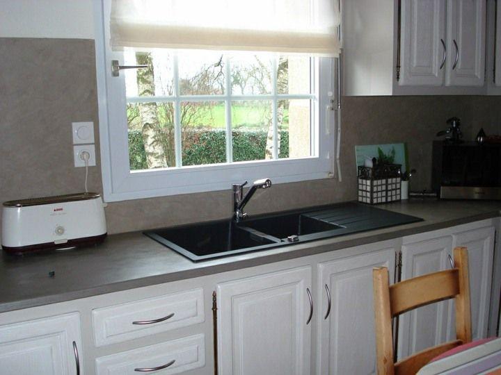 idee renovation peinture cuisine id es de travaux. Black Bedroom Furniture Sets. Home Design Ideas