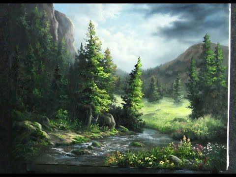 Peinture acrylique kevin hill