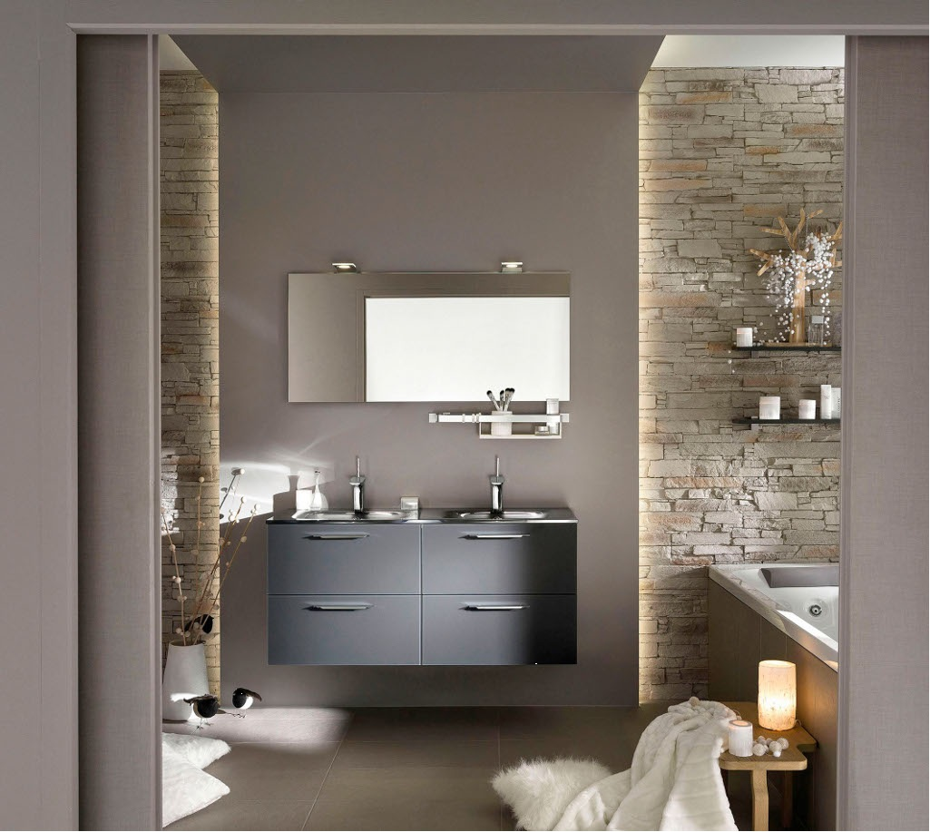 Travaux peinture salle de bain - Idées de travaux
