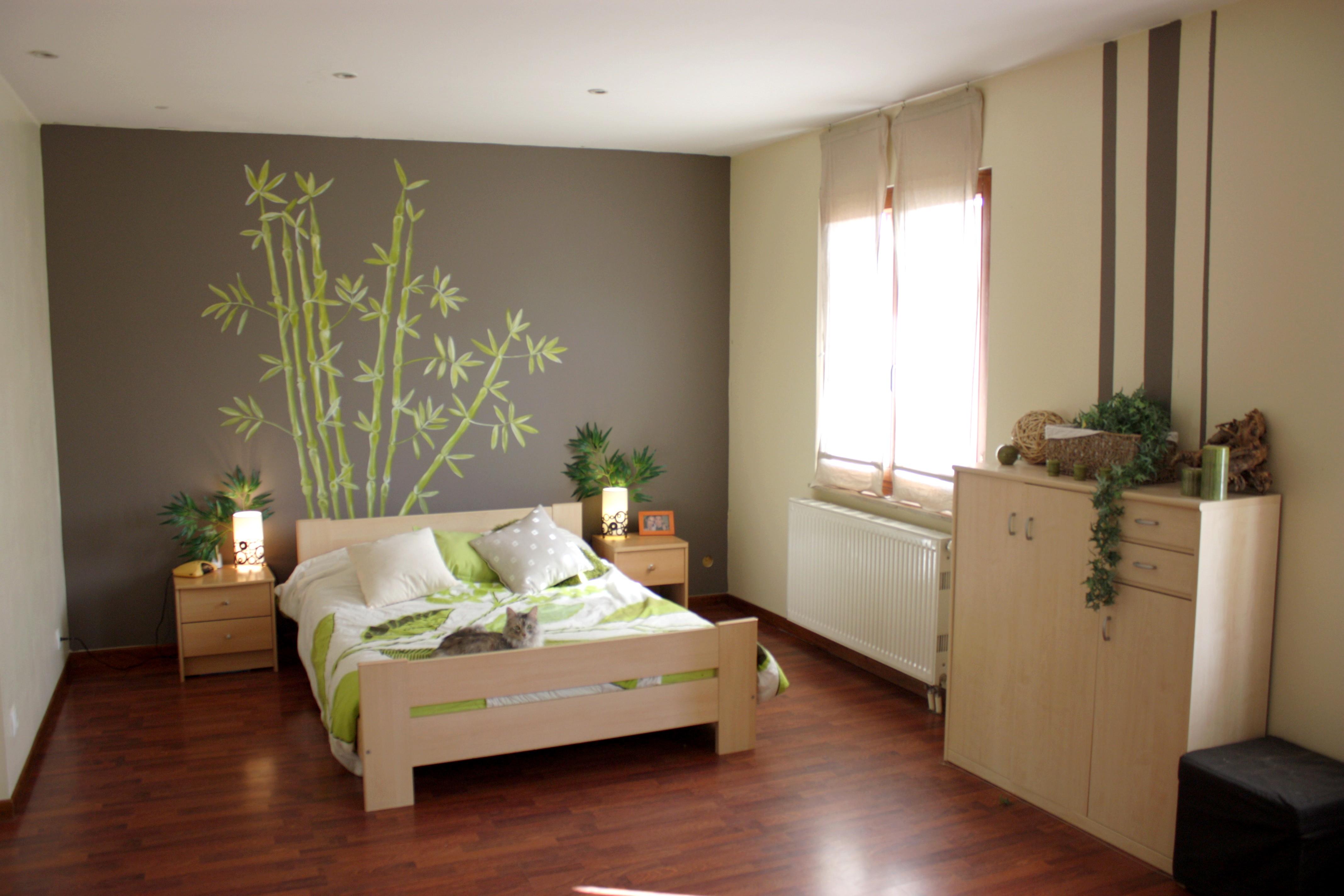 Idee peinture deco chambre adulte - Idées de travaux
