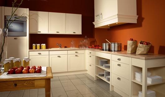 peinture cuisine couleur brique id es de travaux. Black Bedroom Furniture Sets. Home Design Ideas