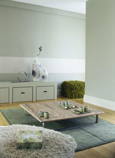 peinture cuisine vert d 39 eau id es de travaux. Black Bedroom Furniture Sets. Home Design Ideas