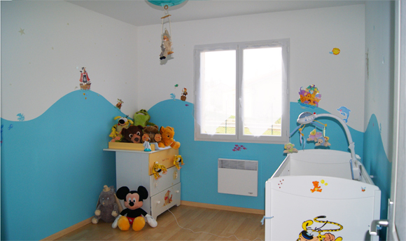 Deco peinture chambre petit garcon id es de travaux - Decoration chambre petit garcon ...
