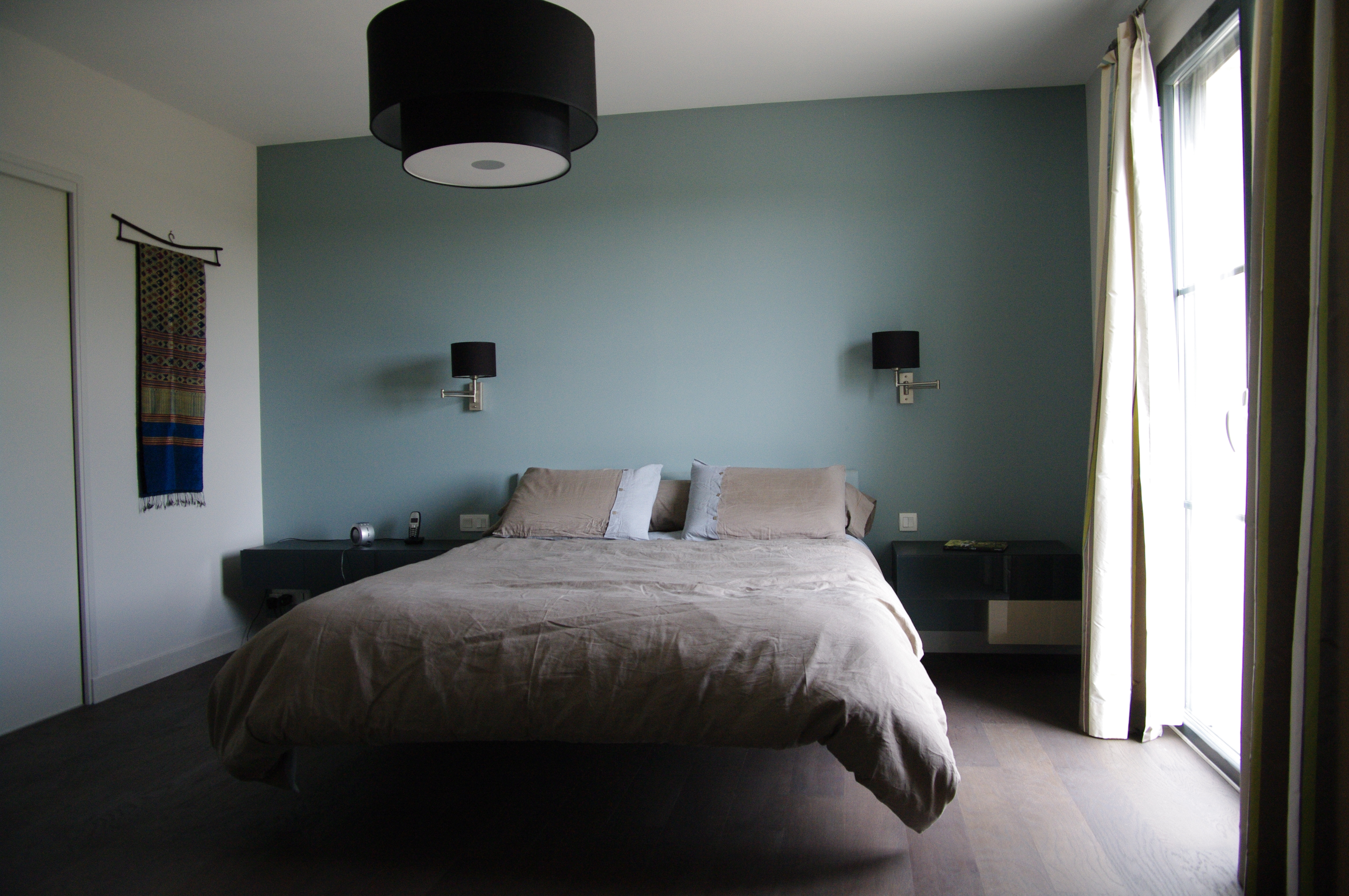 Idee deco chambre couleur peinture - Idées de travaux