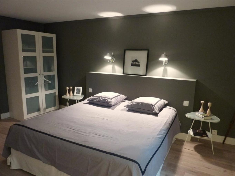 Deco chambre tete de lit peinture