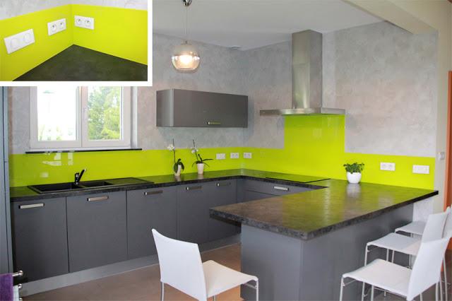 peinture vert de gris pour cuisine id es de travaux. Black Bedroom Furniture Sets. Home Design Ideas