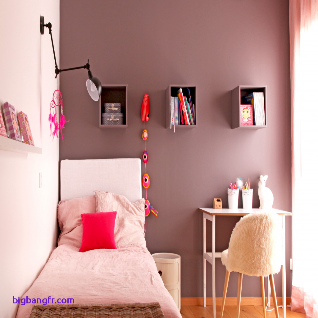 Peinture deco chambre ado fille - Idées de travaux