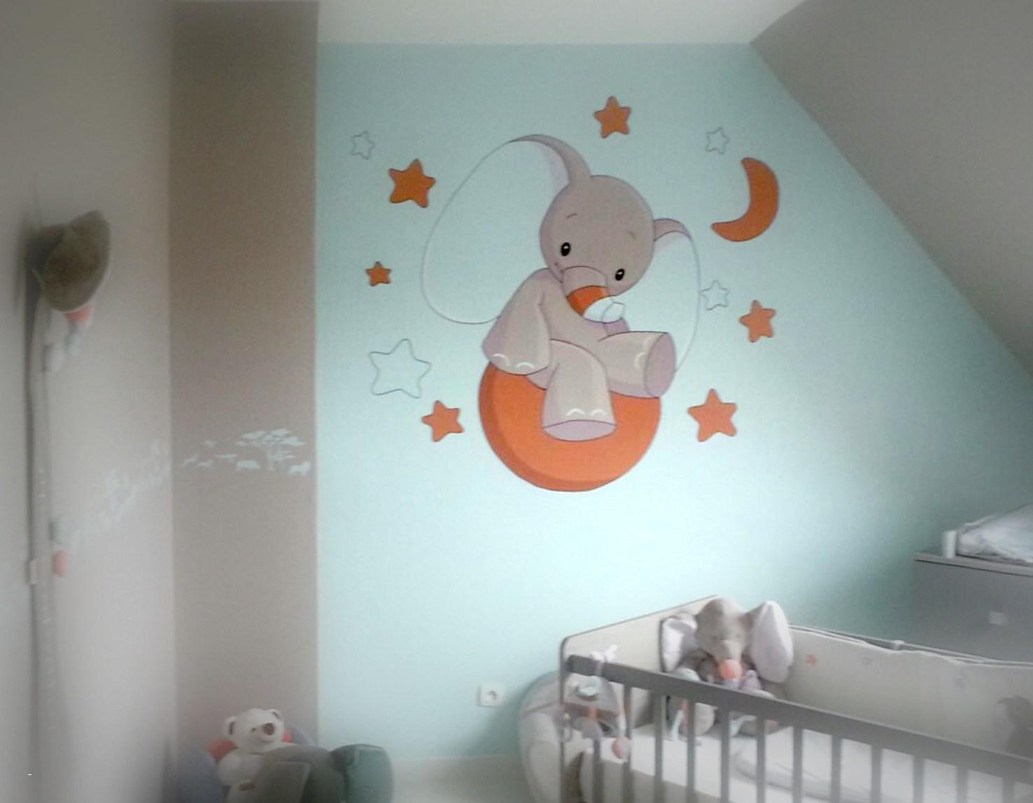 Deco Peinture Mur Chambre Bebe Idées De Travaux
