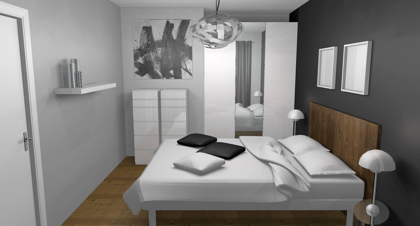 peinture decoration interieur chambre id es de travaux. Black Bedroom Furniture Sets. Home Design Ideas