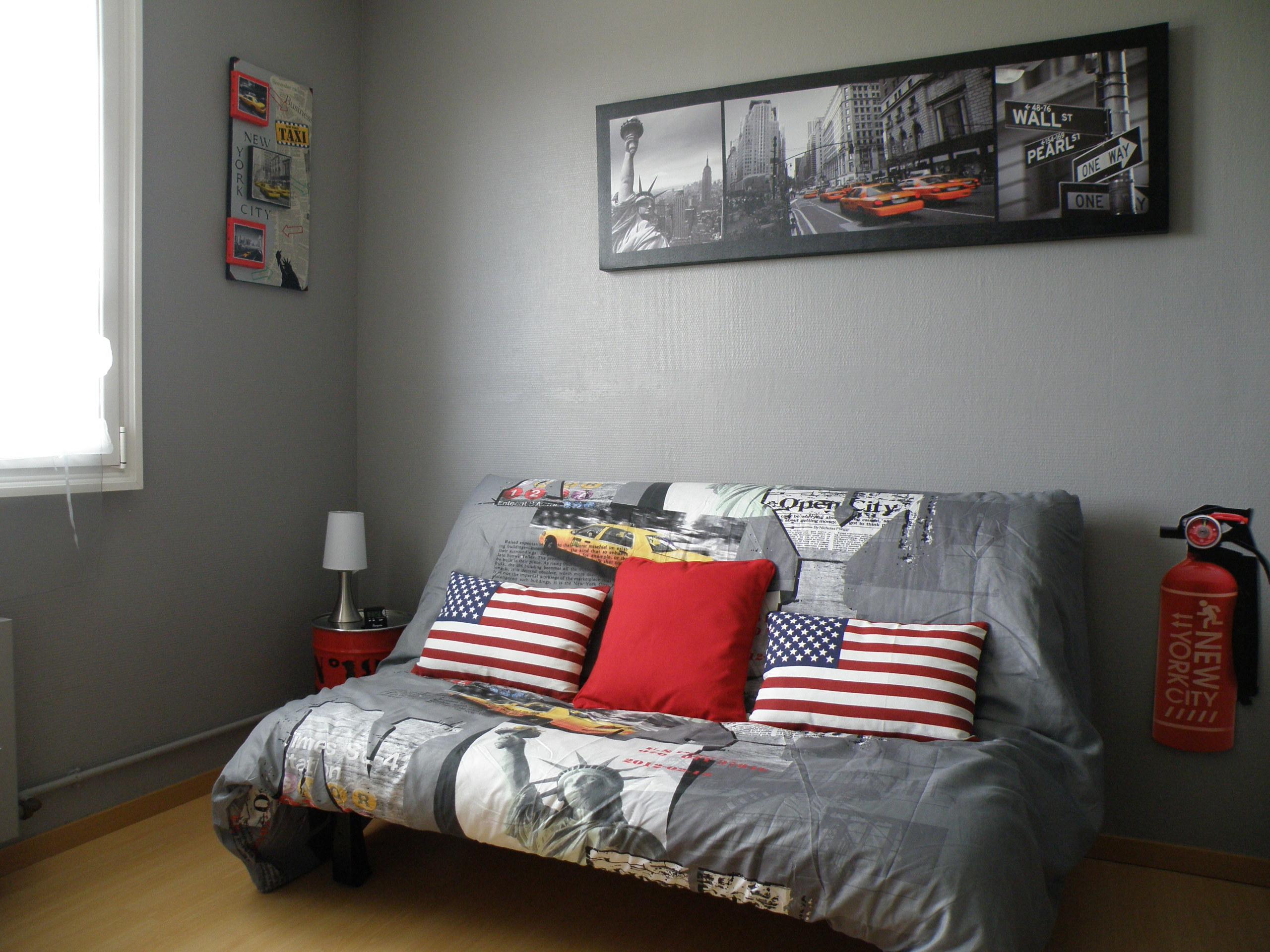 Idee deco peinture murale chambre - Idées de travaux