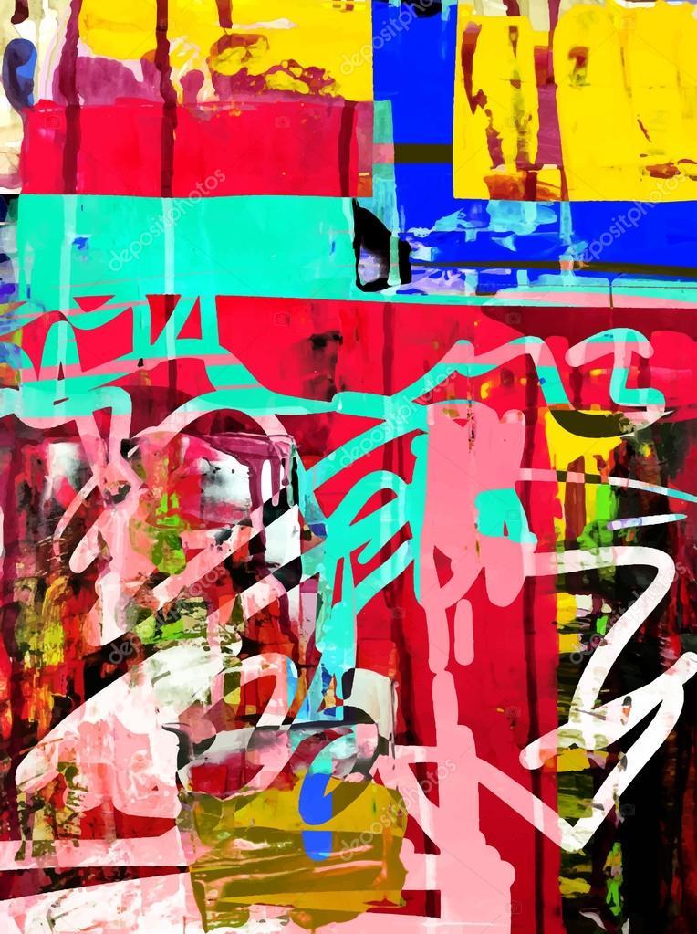Peinture acrylique composition - Idées de travaux