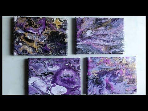 Peinture Acrylique Pouring Youtube Idées De Travaux