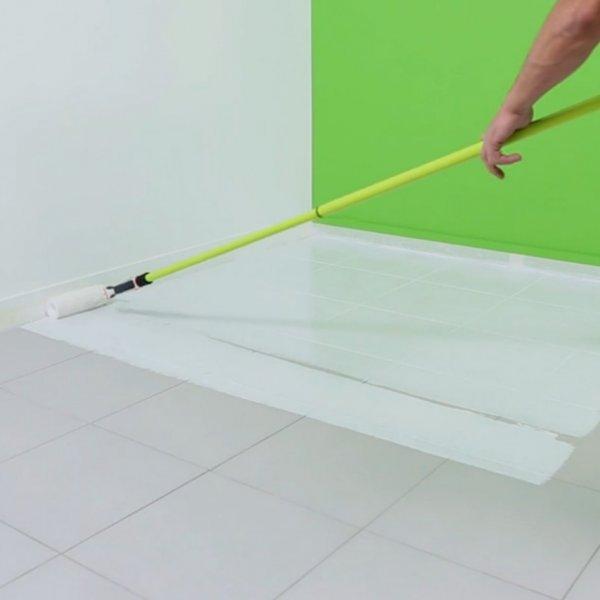 Peinture carrelage blanc brillant - Idées de travaux