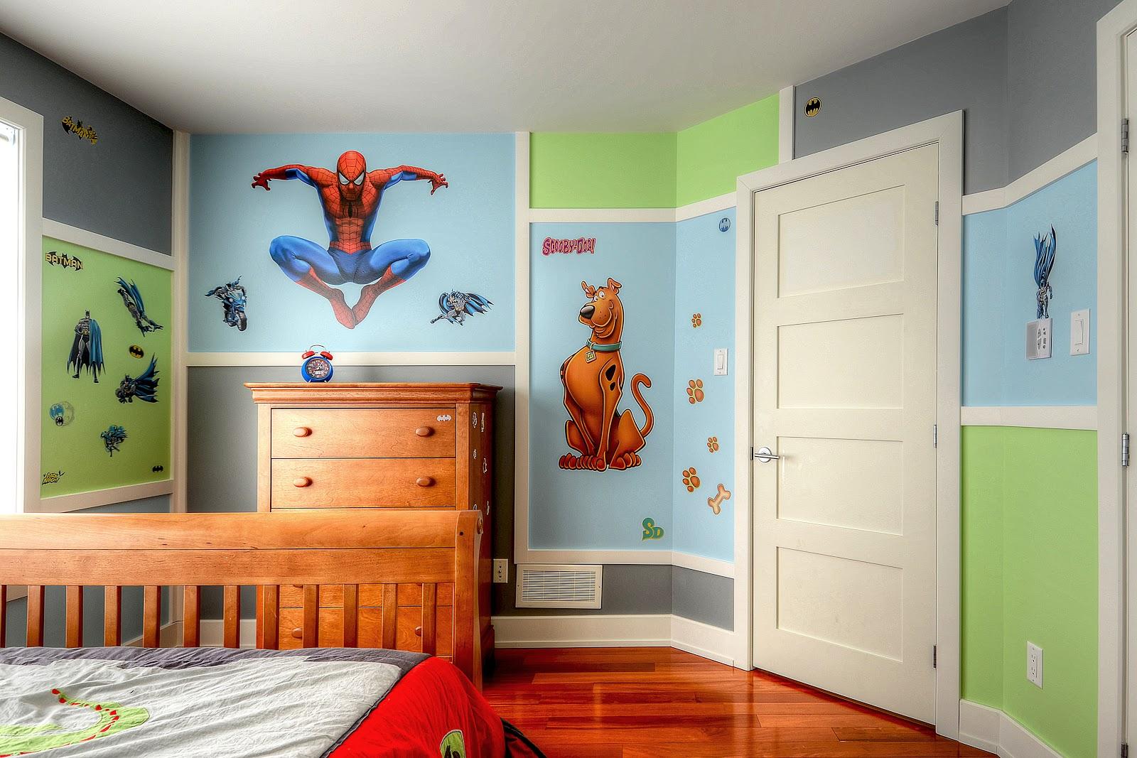 Deco peinture chambre garcon 8 ans - Idées de travaux