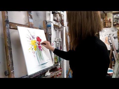 Tuto Peinture Acrylique Youtube Idées De Travaux