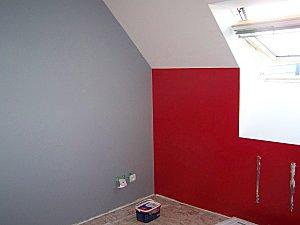 Deco Chambre Peinture Rouge