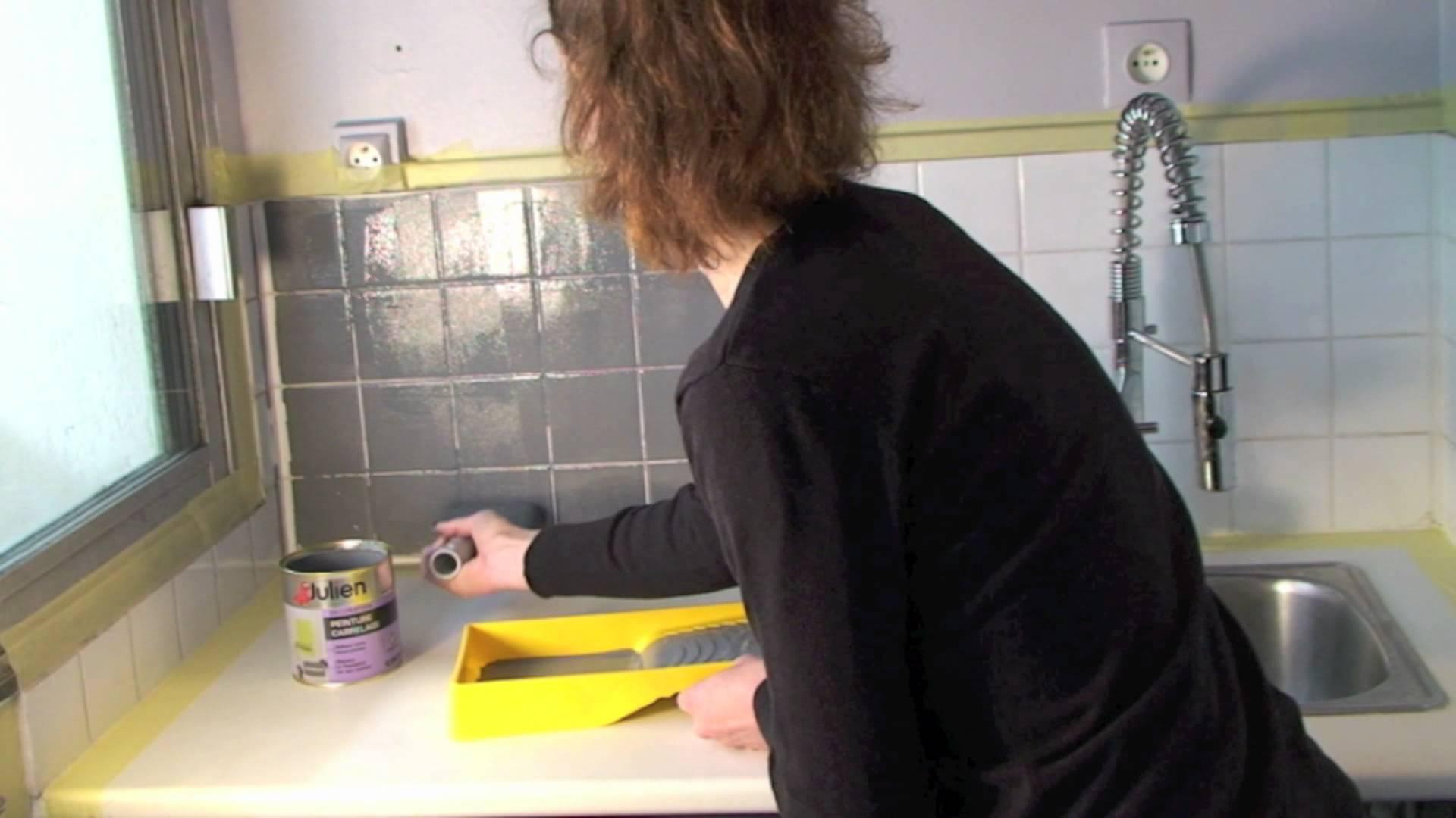 Peinture Carrelage Mural Youtube Idées De Travaux