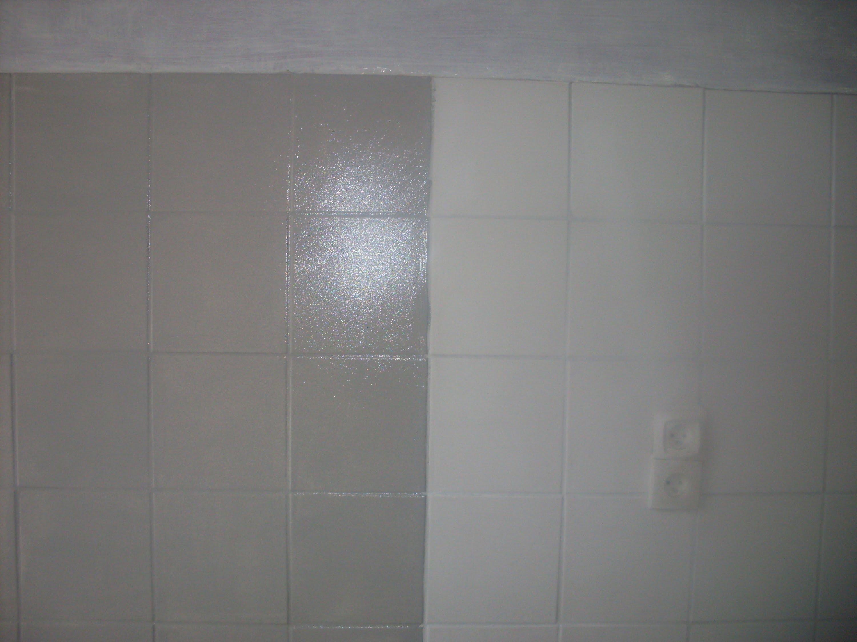 Peinture carrelage v33 blanc - Idées de travaux