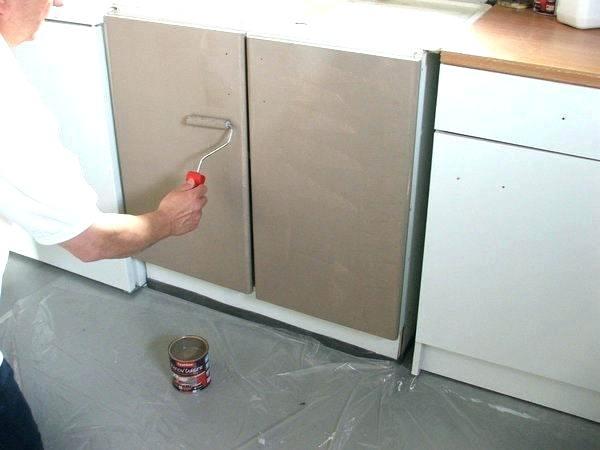 Peinture cuisine stratifi id es de travaux - Peinture meuble cuisine stratifie ...