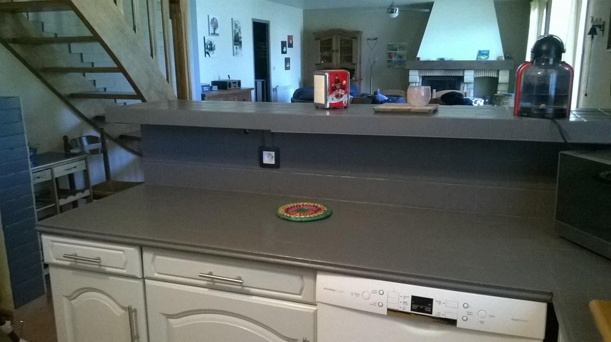 Peinture plan de travail cuisine bois id es de travaux - Repeindre un plan de travail cuisine ...