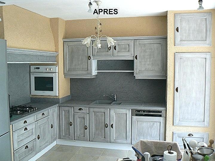 peinture pour repeindre cuisine en bois - idées de travaux