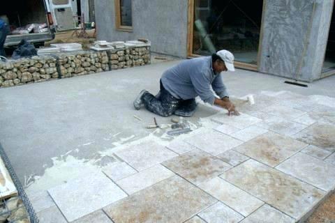 Peinture ou carrelage terrasse - Idées de travaux