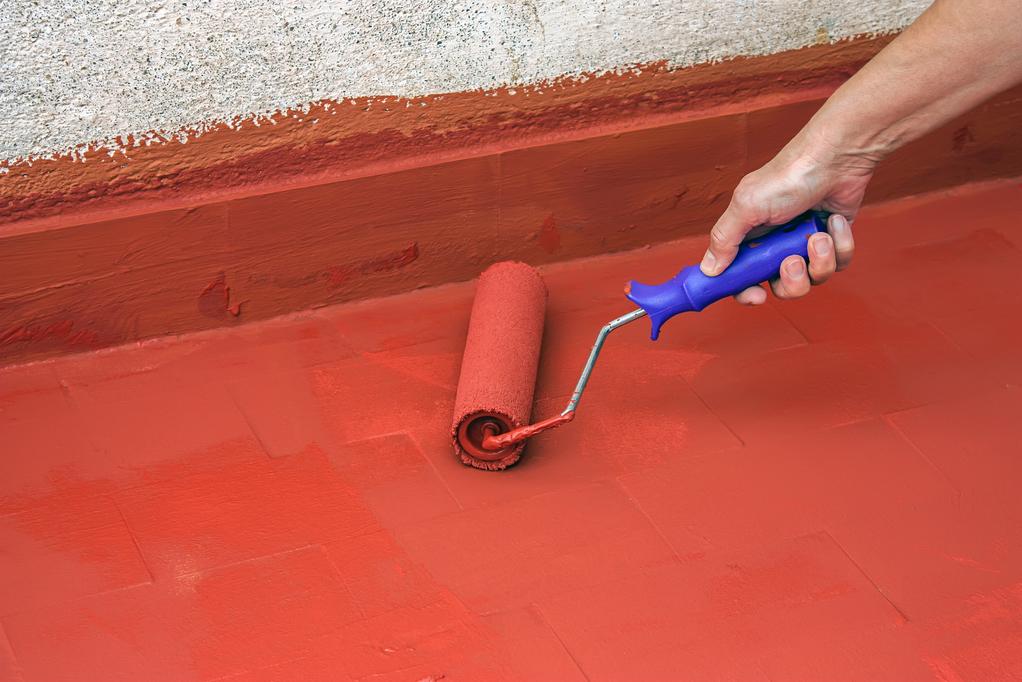 Peinture Carrelage Rouge cuisine peinture ocre rouge - idées de travaux