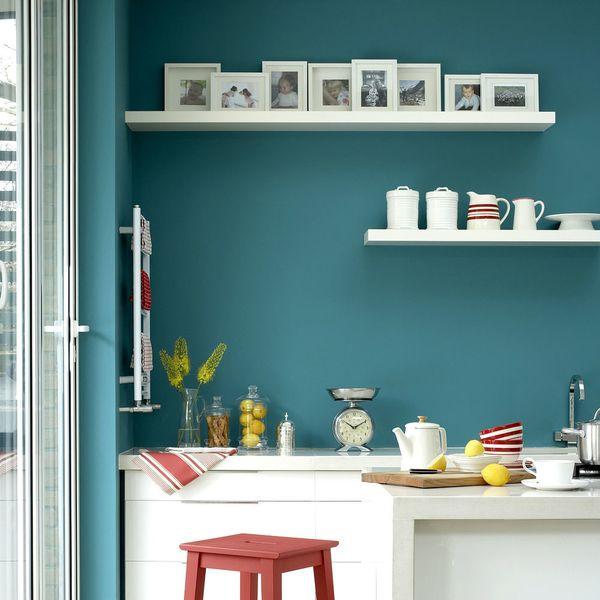 Couleur peinture cuisine maison   Idées de travaux